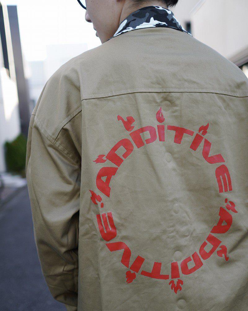 リバーシブルOBACHAN'Sパッチワークレオパードカモフラ長袖シャツジャケットの画像4